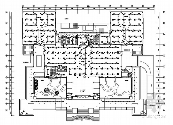 某图书馆电气施工图一套