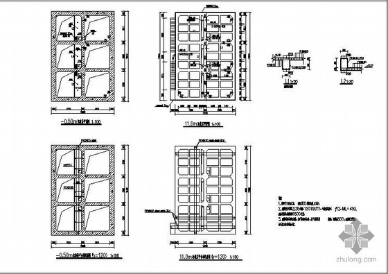 某高位井结构图
