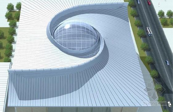 [北京]大学体育馆铝合金屋面施工方案(双曲螺旋型)