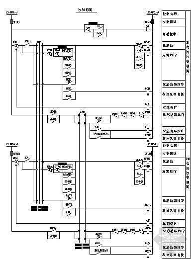 生活泵一用一备软启动原理图