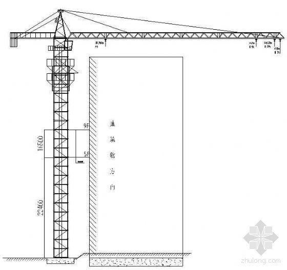 河南某高层学生宿舍楼工程QTZ40塔吊施工方案