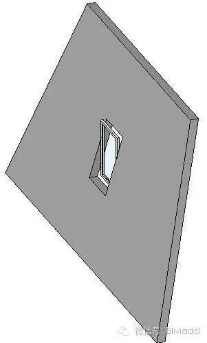 Revit如何在倾斜墙体上插入窗!