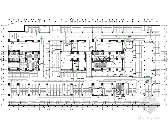 二十六万平大型商业综合体全套电气图272张(含超高层住宅、办公与商业)
