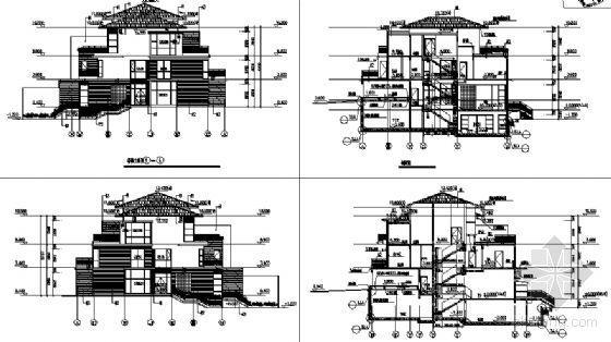 丹堤A区11号楼建筑施工图-2