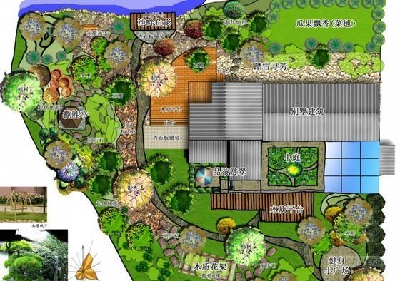 别墅庭院景观概念设计方案