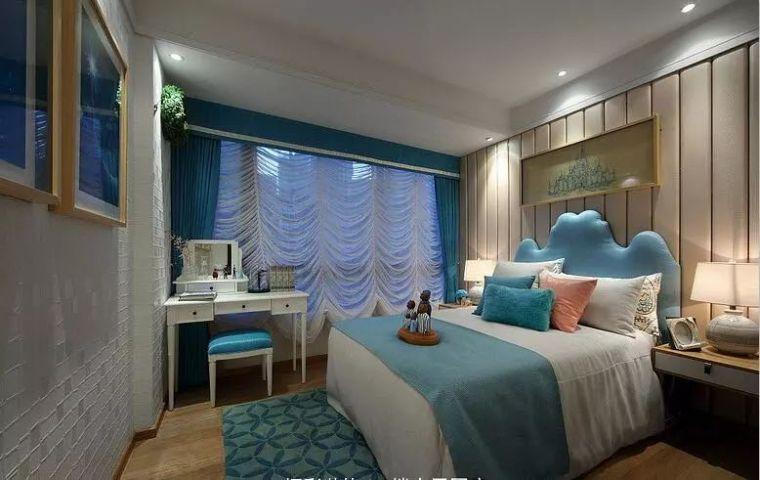 卧室背景墙别放空,这样设计美极了!_18