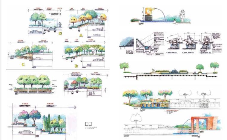 手绘景观方案与细部设计(中文版+PDF+161页)-天津时代奥城三期2