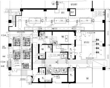 [上海]商业办公综合楼暖通施工图(含通风平面、冷却水系统图、锅炉房平面及系统图等)