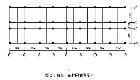 建筑框架结构设计计算书