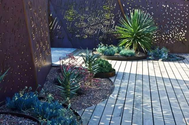 那些颜值高又实用的雨水花园!