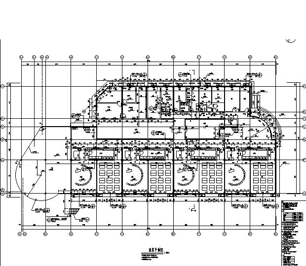 [广东]国际知名设计院住宅及商业网点、幼儿园施工图(全专业)_7