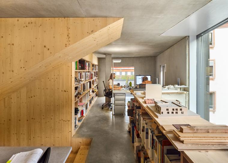 法国斯特拉斯堡办公室与住宅建筑-16