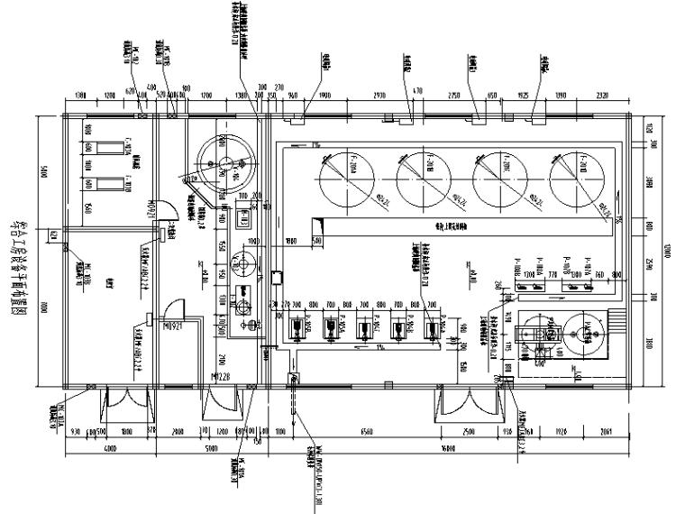 综合工房工业废水深度处理再利用工程图纸(CAD,23张)