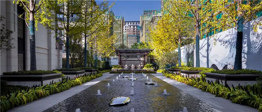 上海保利首创颂展示区景观-7
