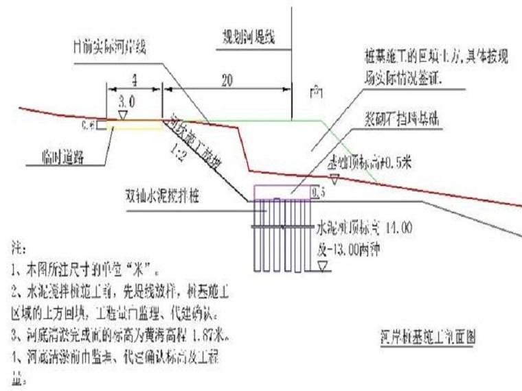 河坎、清淤施工方案Word版(共20页)