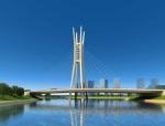 双塔双索面PC斜拉桥施工方案