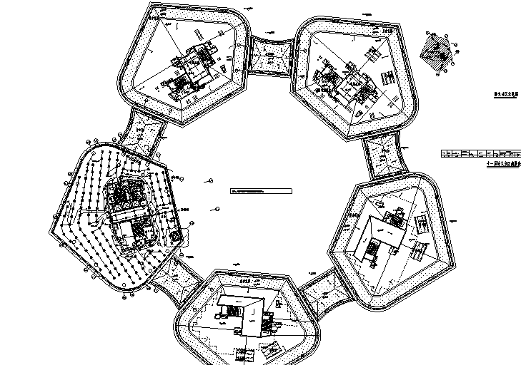 上海核心地块金融广场电气消防设计图(含电气节能)