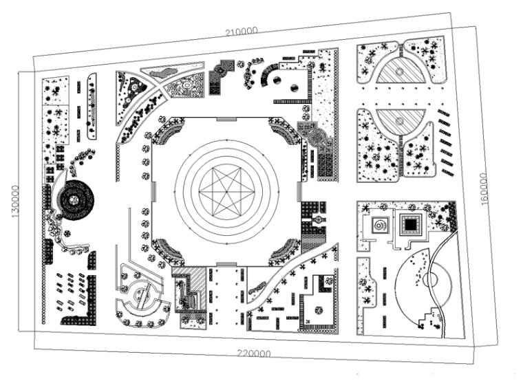 某公园景观规划设计方案