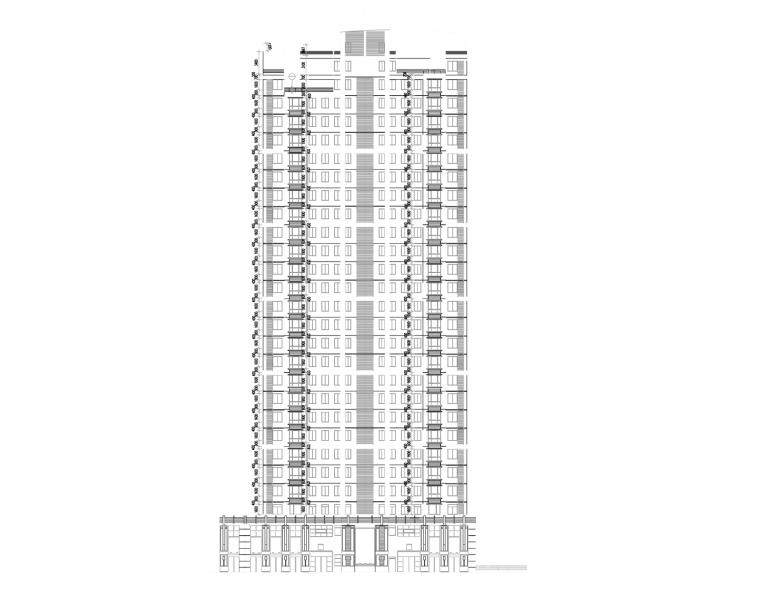 [重庆]专业万科工程竣工终板施工图(全高层建筑机器人住宅v专业级60图纸图片