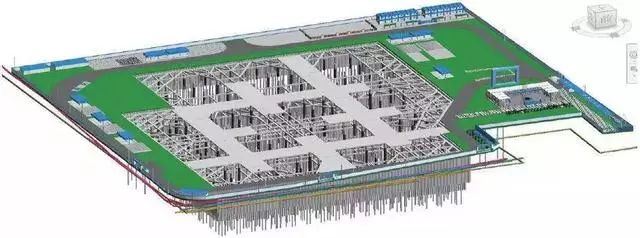 BIM技术在基坑与脚手架施工中的运用与分析_4