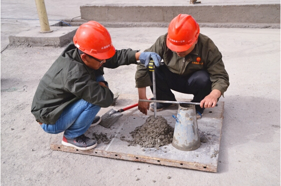 谈谈混凝土水灰比和塌落度的相互关系