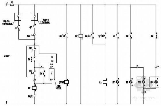污水处理厂低压配电成套设计电气图纸