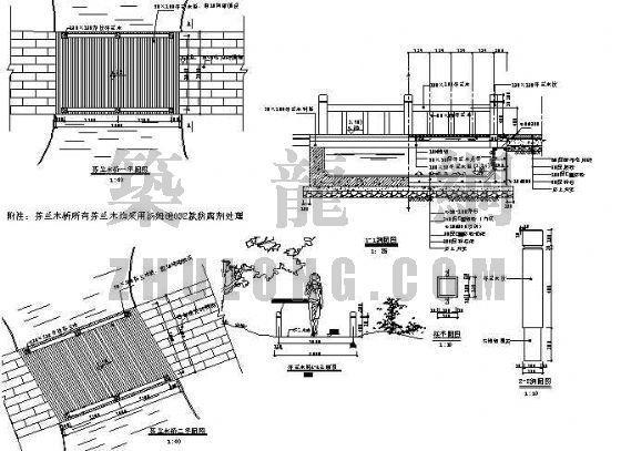 芬兰木桥竣工图-4