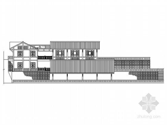 [贵州]某红色旅游景区木结构酒窖建筑施工图