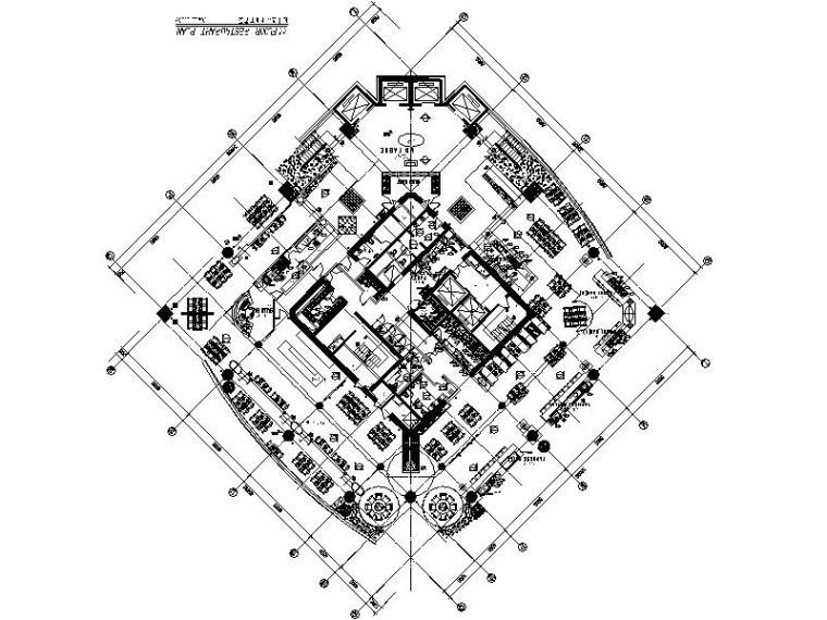 [深圳]豪华尊贵大型酒店公共区室内设计施工图