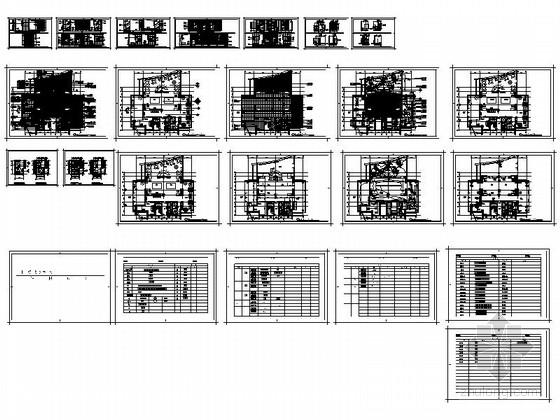 [佛山]高档社区核心居住区售楼处设计装修图资料图纸总缩略图