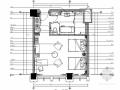 [辽宁]现代化办公楼标准双人床装修施工图