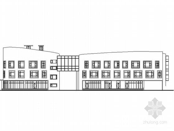 [河南]某多层幼儿园建筑设计方案图