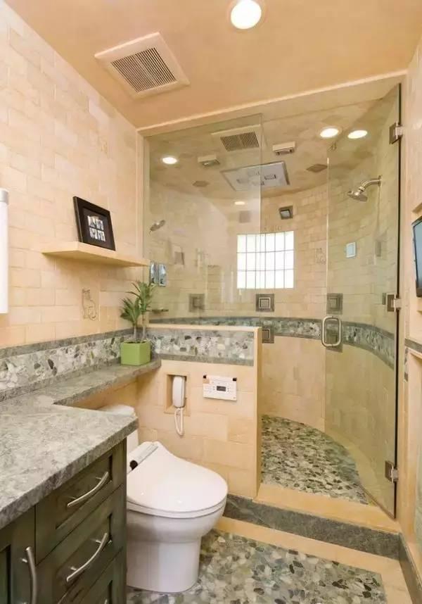 卫生间这种重要的地方装修几个注意事项!
