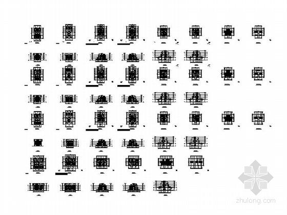 [四川]三层阶梯状别墅建筑施工图(含多套方案)-三层阶梯状别墅建筑缩略图