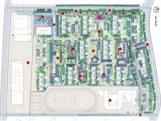 [山东]多功能休闲娱乐购物一体化公共空间景观规划设计方案(知名设计公司)