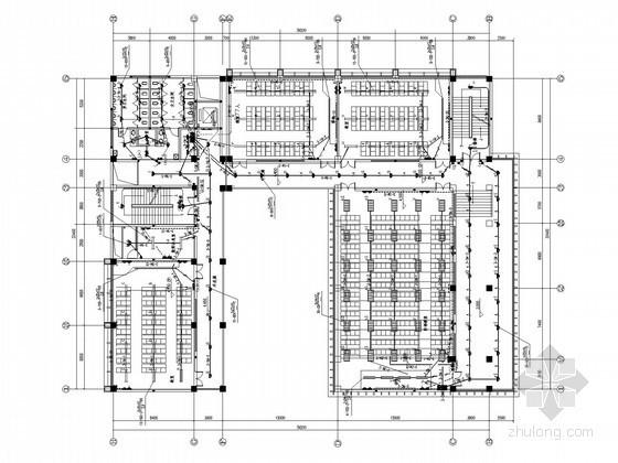 [云南]综合大学校区改造项目全套电气施工图纸