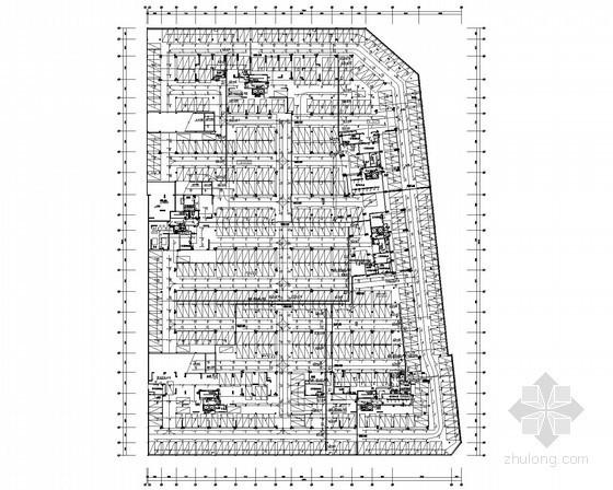 [广东]12万平方米一类高层住宅楼全套电气施工图纸77张