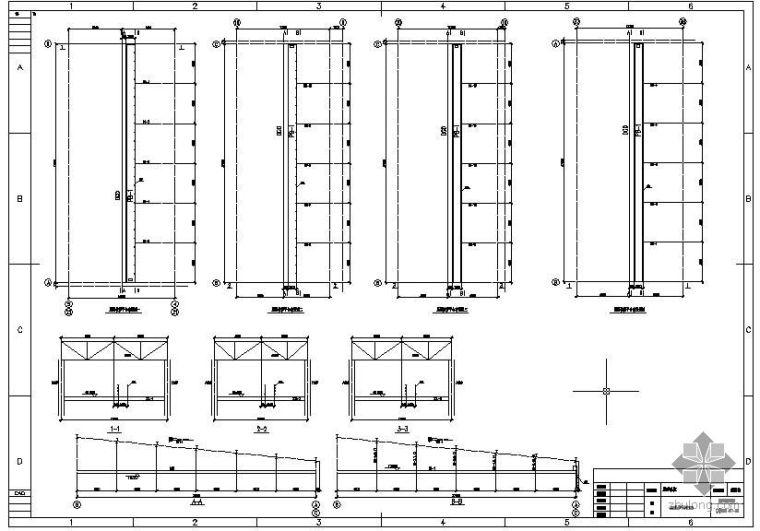 某屋面检修平台节点构造详图