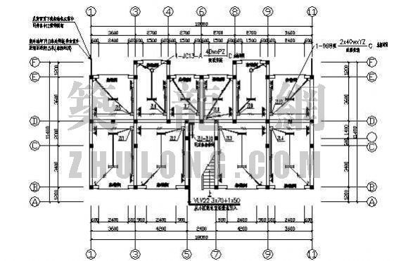 某教师住宅楼电气设计图