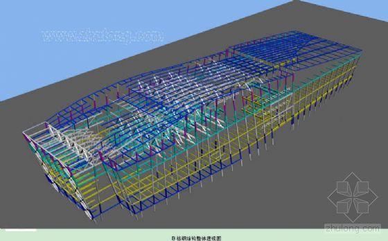 广州某大型会议中心钢结构施工方案