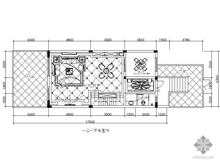 欧式华丽三层别墅室内装修图(含效果)