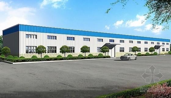 [河北]2014年4月钢结构厂房建筑安装工程预算书(全套)