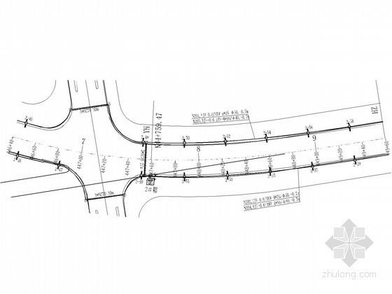 [四川]市政道路照明工程电气施工图纸(含控制原理图)