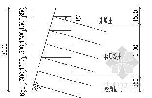 教学楼深基坑土钉墙支护结构设计计算书