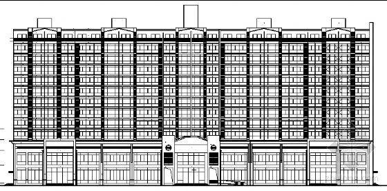 某高层公寓住宅楼建筑施工图