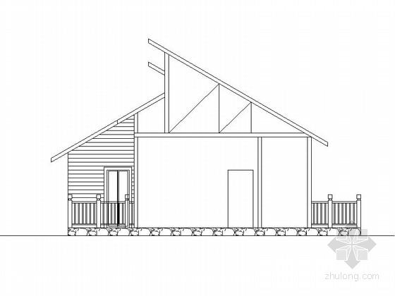 [北京]单层木结构独立住宅建筑施工图