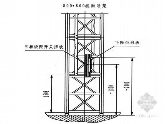 [浙江]高层框筒结构办公楼升降机安装及拆卸施工方案