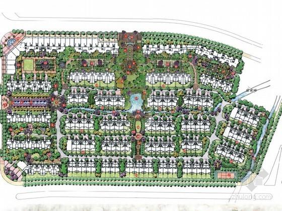 [湖州]县城英伦风情居住区景观设计方案