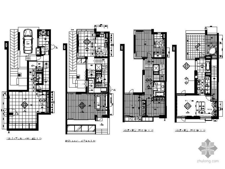 [上海]西郊别墅样板房施工图