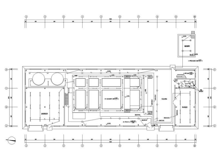 [山东]污水处理站电气施工图最新